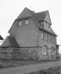 Foto des Bahnhofs Mülheim am 19.05.1971